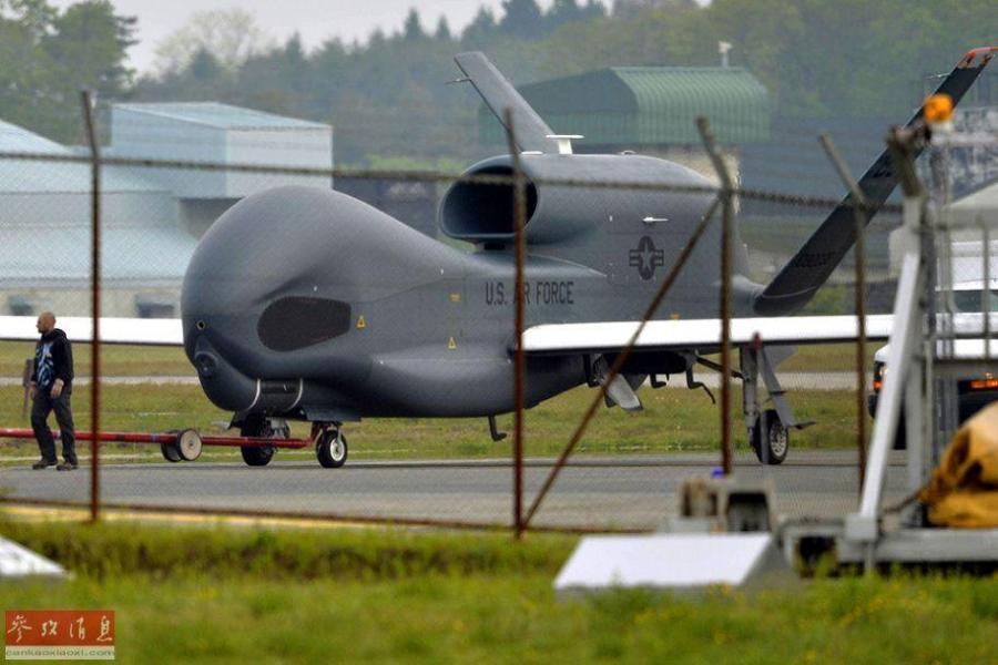 """""""全球鹰""""无人机10月将结束在日临时部署"""