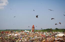 孟加拉国:垃圾堆里的拾荒者
