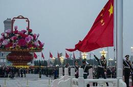 北京12万名群众观看国庆升旗仪式