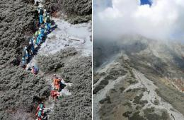42名日本御岳山喷发死者身份确认 尚有24人失踪