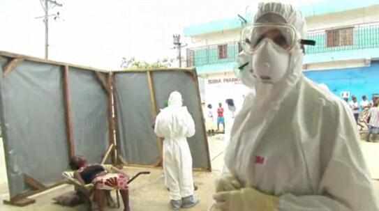 第四名美国人在利比里亚感染埃博拉