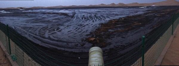 习近平批示腾格里沙漠污染问题 当地紧急开会 - 何记茶轩-金霏霏 - 何记茶轩-金霏霏