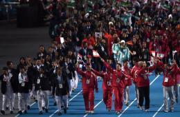 亚运会闭幕式载歌载舞 朝鲜高官出席
