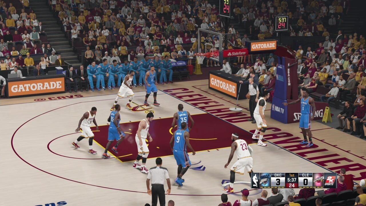 万千球迷翘首期盼 《NBA 2K15》外媒评测