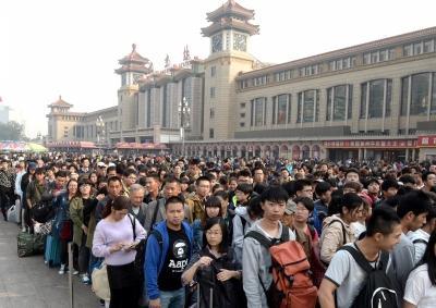 黄金周北京商企销售近70亿 庆丰卖1200万个包子