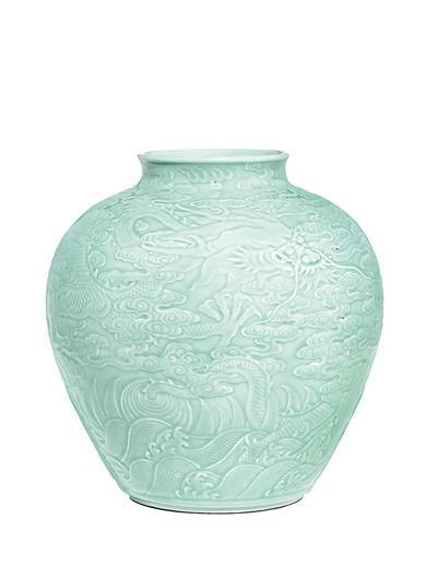 圆明园流失文物清代龙纹罐被拍卖 7400多万成交