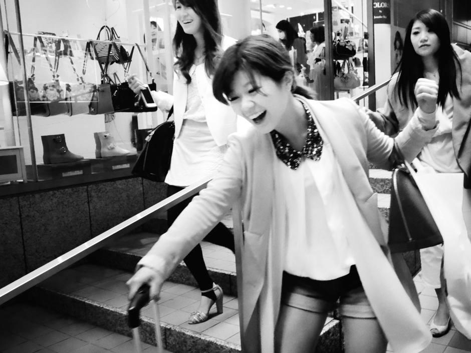 人像摄影:东京印象
