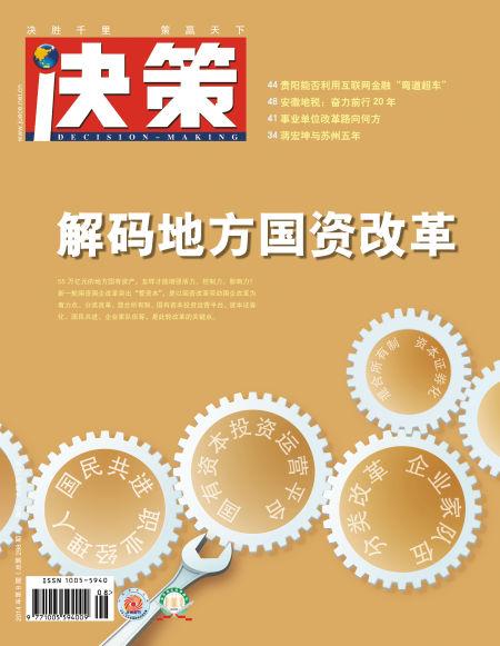 解码地方国资改革:国资委引发争议不断