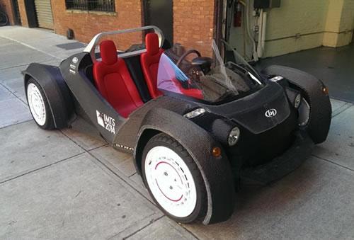 解析3D打印汽车:距离量产为时尚早