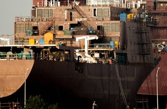 中国海警或成世界第一 国产万吨级执法船现身