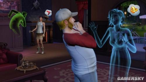 《模拟人生4》将加入超自然元素 饲养吸血鬼