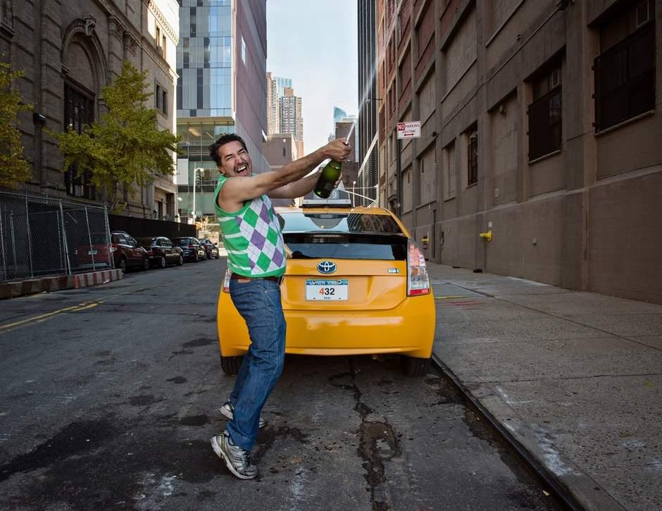 人像摄影:出租车司机的日常百态