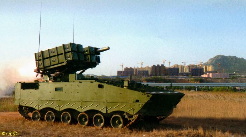 新型红箭10导弹发射高清画面