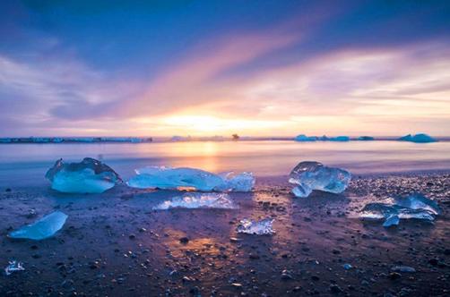 世界尽头:摄影师实拍冰岛泻湖