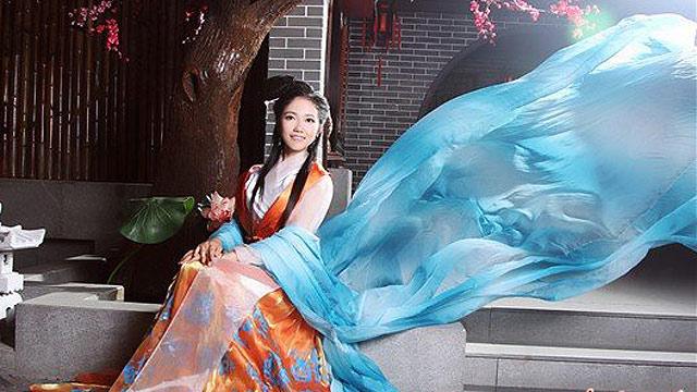 湖南沅陵县举办选美比赛 三强出炉