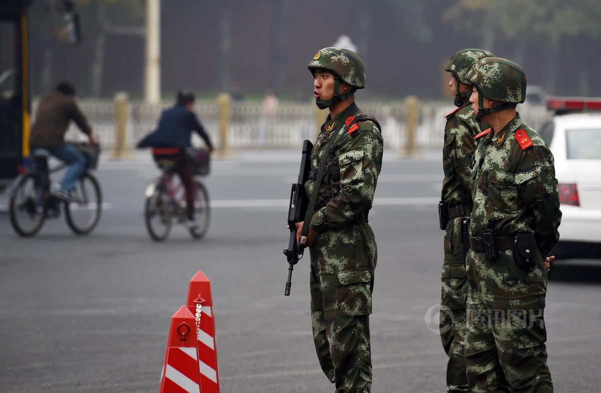 四中全会开幕在即 北京安保全面升级