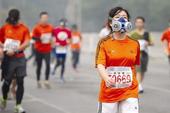 马拉松撞上雾霾,快乐掺上麻烦