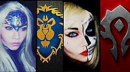 魔兽世界女玩家化妆秀