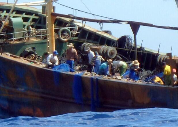 """日媒称中国渔船与海保""""猫鼠游戏""""不断上演难招架"""