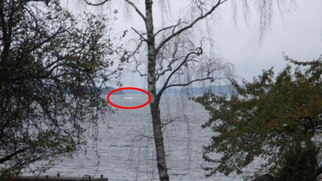 """瑞典军方称将使用武器迫使""""神秘""""外国船只浮出"""