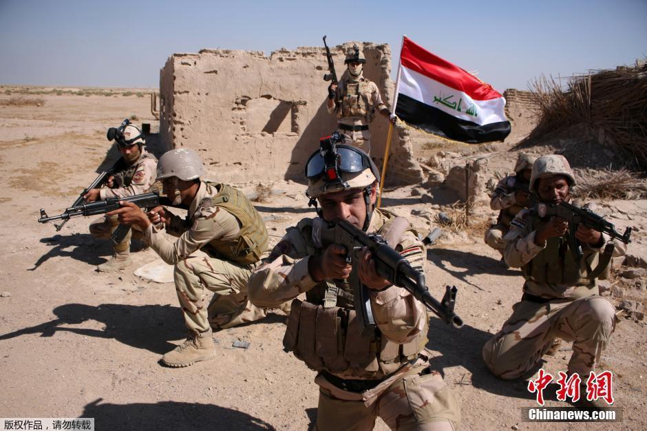 伊拉克海军上岸与极端武装作战
