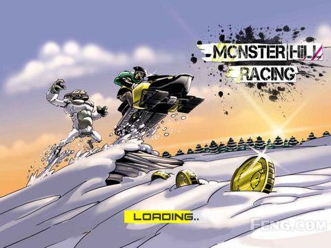 再不跑快些就被雪怪吃了:《雪怪竞速》
