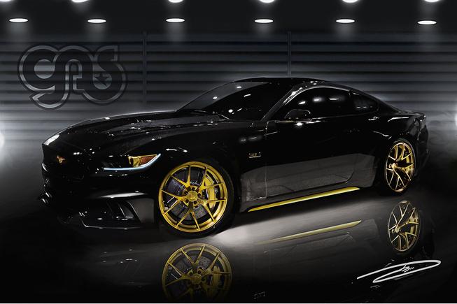 福特预览两款野马改装车 将亮相sema车展图片