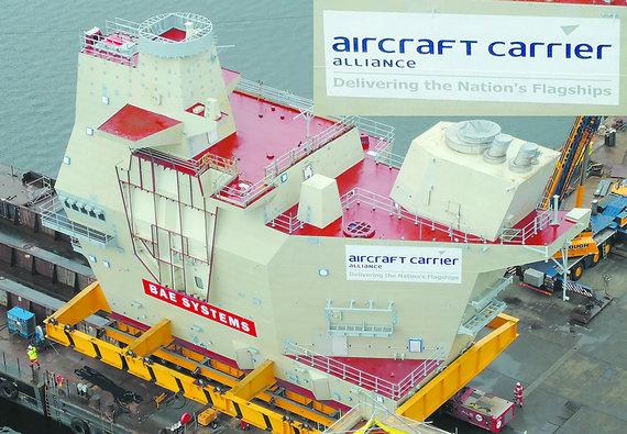 传国产航母在大连开工 揭秘大型航母如何建造