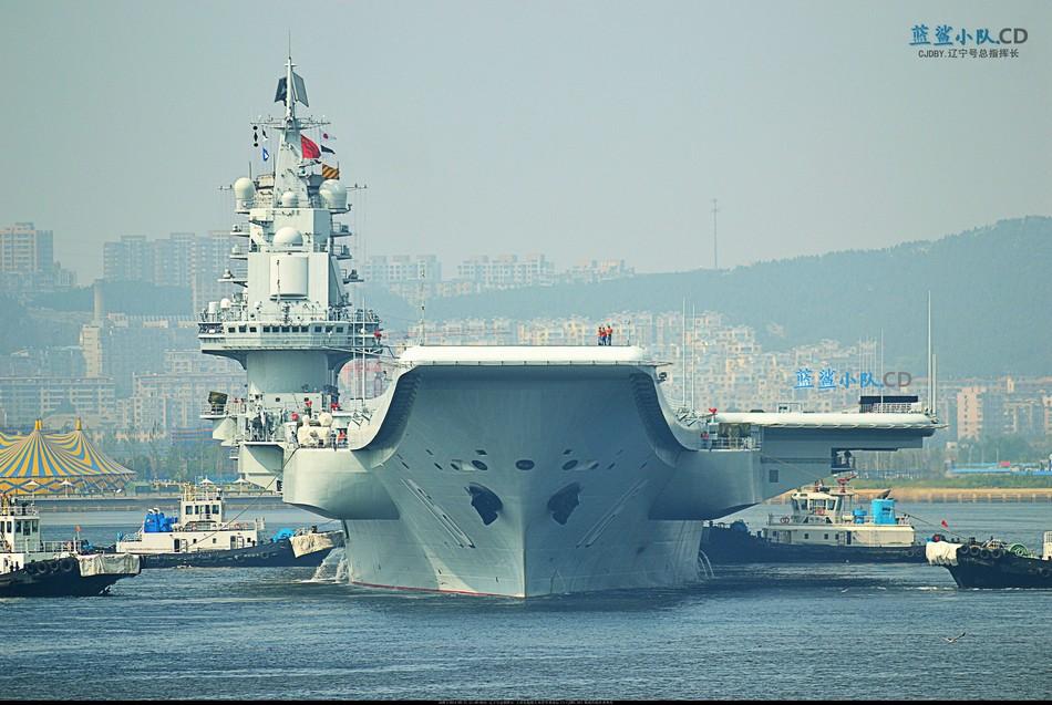 港媒:大连上海同时建航母 使用常规动力非核能