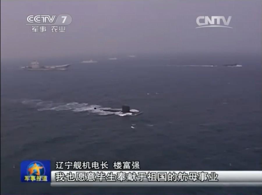 日媒:中国航母编队建设神速 开启中美较量大幕
