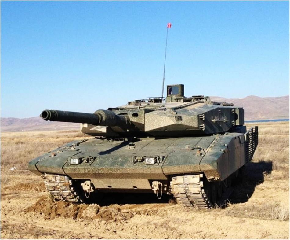 升级版豹II坦克外形更威猛霸气