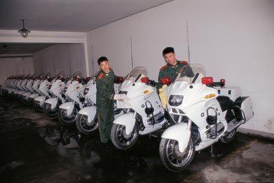 国宾护卫摩托车杭州造 市场价超20万会推民用版