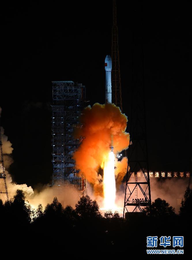 中国首次实施再入返回飞行试验