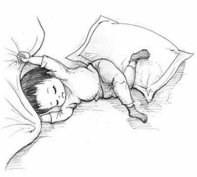 小孩睡觉为啥老转圈?中枢神经系统发育未成熟所致