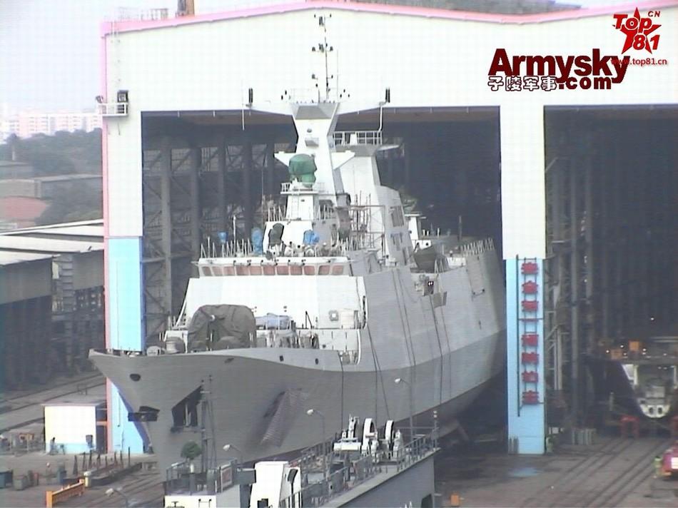 22艘054A系列护卫舰下水珍贵照