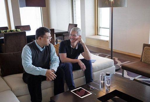 """苹果公司CEO蒂姆·库克的""""中国梦"""""""
