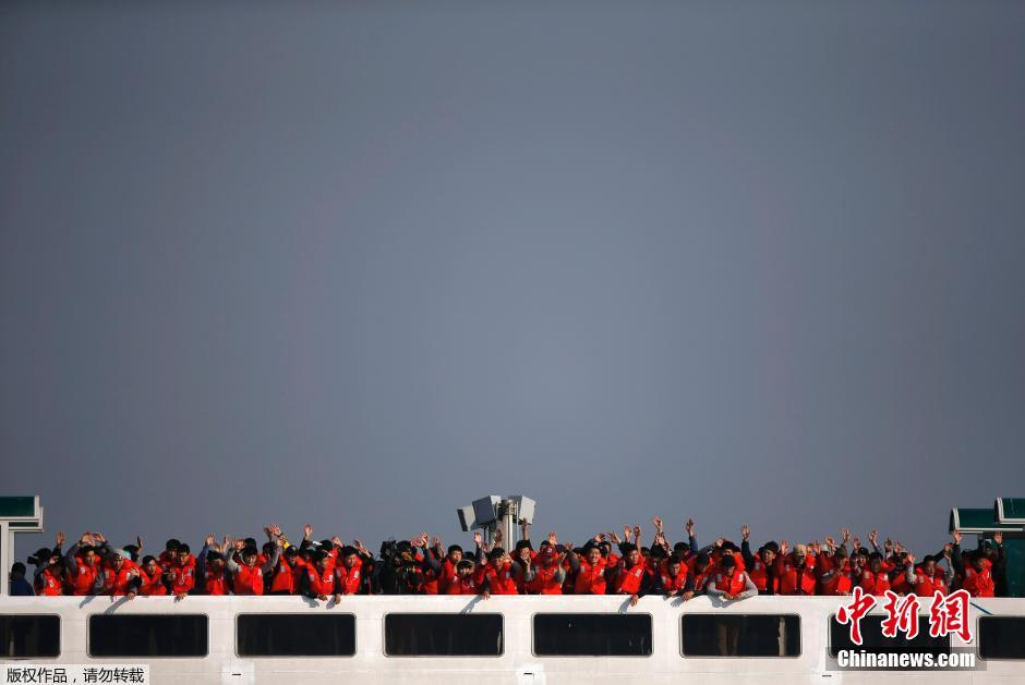 韩国吸取岁月号教训练轮渡救援