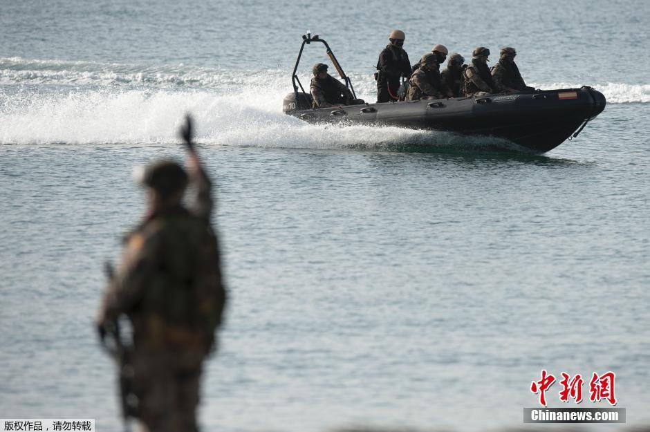 北约16国精锐部队集结演习