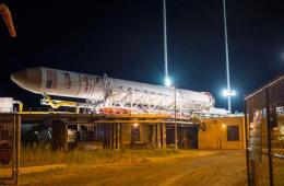 """美国将发射""""安塔瑞斯""""号火箭为国际空间站运送物资"""