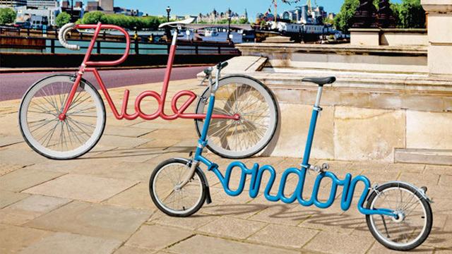 伦敦交通局公益广告:自行车出行益处多