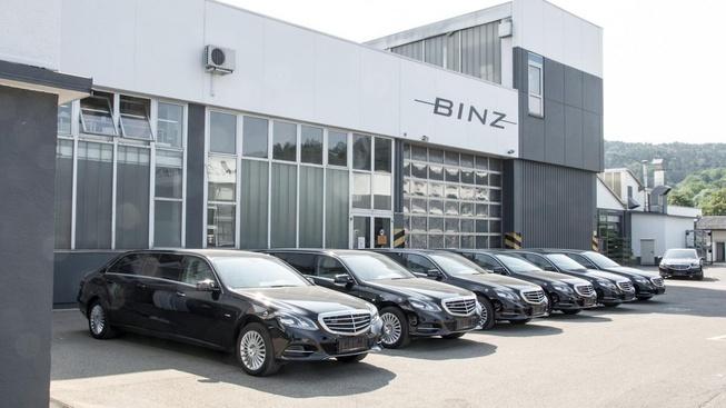 Binz改装奔驰E级6门轿车发布 超大空间
