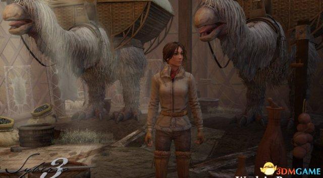《塞伯利亚之谜3》最新截图赏 两名经典角色回归