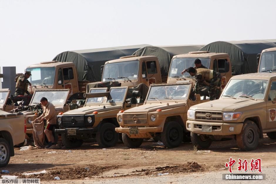 伊拉克库尔德大军赴叙抗击IS
