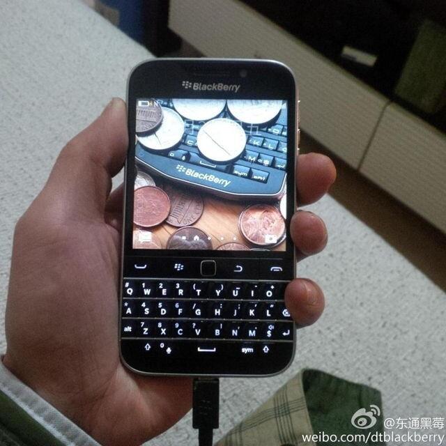 程守宗:全键盘新机黑莓经典将于12月发布