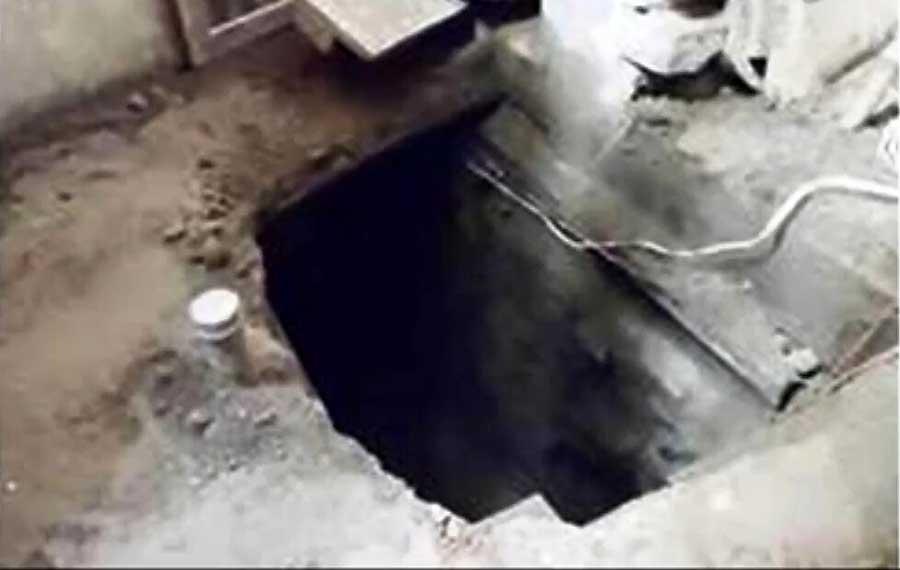 印度盗贼挖40米地道洗劫银行77个保险箱