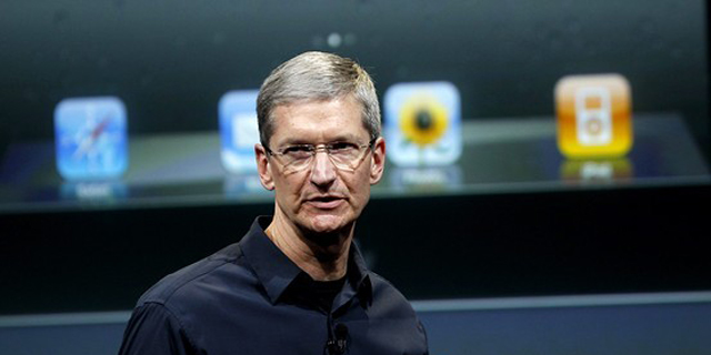 """苹果掌门人宣布""""出柜"""""""