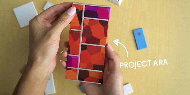 谷歌首发视频展示模块手机Ara Project成果