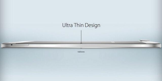 美媒:4.85毫米超薄机身 Oppo R5好看不实用