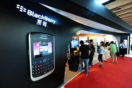 美媒:黑莓在中国智能手机市场迎来三大机遇