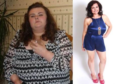 英胖女子遭男友嫌棄狂減166斤 甩掉男友